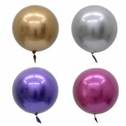 Шар-сфера, цвет в ассортименте (хром)