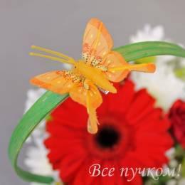 Бабочка 5 см в ассортименте