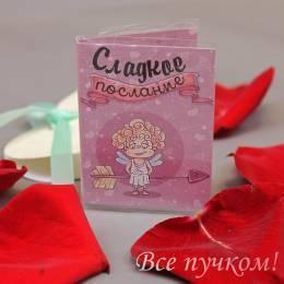 """Мини-открытка """"Сладкое послание"""""""