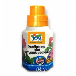 """Удобрение """"Joy"""" для цветущих комнатных растений 250 мл"""