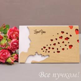 "Открытка ""Love you"""