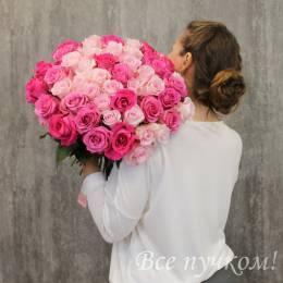 """Букет """"Магия чувств"""" из 51 розы"""