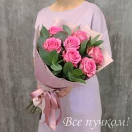 """Букет """"Подарок судьбы"""" из 7 роз"""