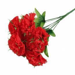 """Ветка """"Гвоздика"""" с 9 цветками"""