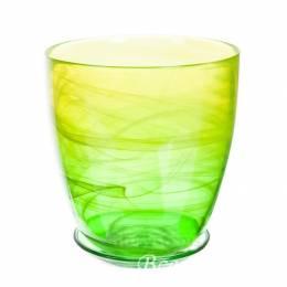 Горшок из стекла №3, цвет в ассортименте, D14,5 см