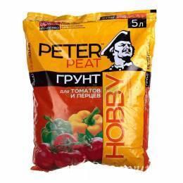 """Грунт """"Peter Peat"""" для томатов и перцев 5 л"""
