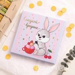 """Набор """"Открытка + 9 шоколадок"""""""
