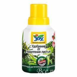 """Удобрение """"Joy"""" от пожелтения листьев 250 мл"""