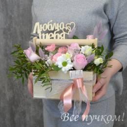 """Ящик """"Розовая дымка"""""""