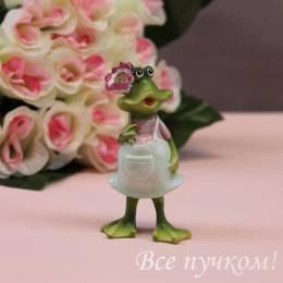 "Фигурка ""Нарядная лягушка"""