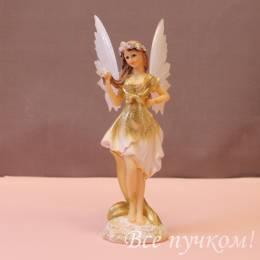"""Фигурка """"Ангел в золотом платье"""" большая"""