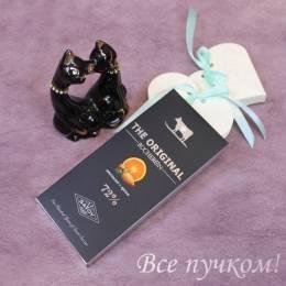 """Горький шоколад """"Бушерон"""" с апельсином и орехами"""