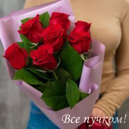 """Букет """"Первое свидание"""" из 7 роз"""