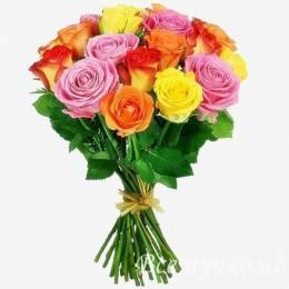 Розы 60 см. Цвет МИКС