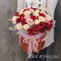 Коробочка#401 - 51 роза
