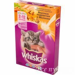 Корм для котят Whiskas с индейкой 350 г сухой