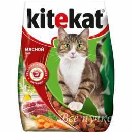Корм для кошек Kitekat мясной пир 350 г сухой
