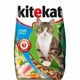 Корм для кошек Kitekat улов рыбака 350 г сухой