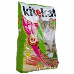 Корм для кошек Kitekat аппетитная телятина 800 г