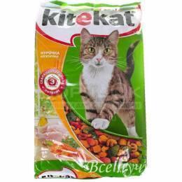 Корм для кошек Kitekat аппетитная курочка 800 г