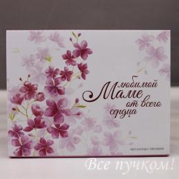 Набор шоколадок «Любимой маме от всего сердца»