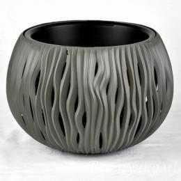 кашпо Sandy bowl 3,9л(св.серый)