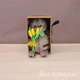 Басик с тюльпанами 27 см
