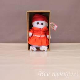 Ли-Ли в красном пальто 38 см