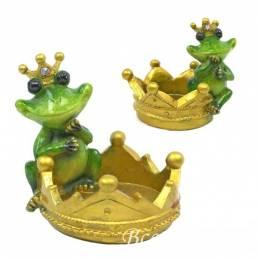 "Подставка для украшений ""Лягушка Принцесса"""