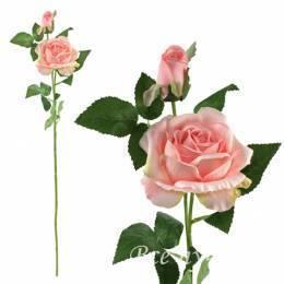 Ветка искусственной розы «Нежность»