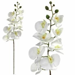 """Ветка """"Орхидея"""" белая"""