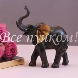 Черный слон с золотыми ушами