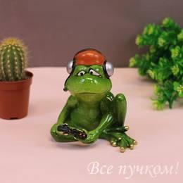 "Фигурка ""Лягушка-геймер"""