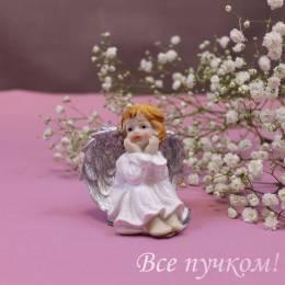 "Фигурка ""Ангел с блестящими крыльями"""
