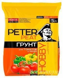 Грунт для томатов и перцев 5 л
