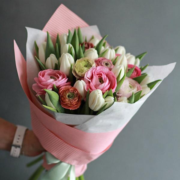 Сезон ранункулюсов, тюльпанов, анемонов ОТКРЫТ