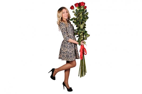 Самые высокие розы!